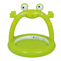 Piscina Gonflabila, Jilong, Frog Spray, 130 x 130 x 119 cm