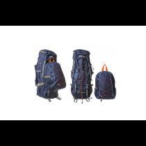 Set rucsacuri Discovery, Aguirre, 60L+20L, Albastru Inchis