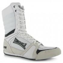 Ghete Barbati, Lonsadale, Cyclone Boxing Boots, Alb-Negru