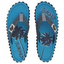 Slapi Flip Flop Gumbies, Islander Canvas, Men's - Twin Palms