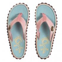 Slapi Flip Flop Gumbies, Islander Canvas, Gecko
