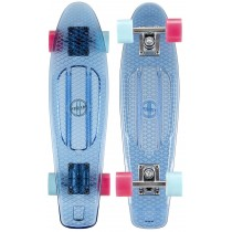 Penny Board, Axer, Plastic, Transparent, 57x15x10.5 cm, Albastru