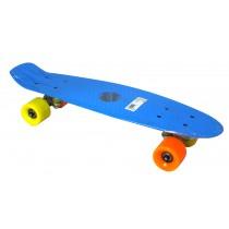 Penny Board, Axer, California, Albastru, Plastic, 56x15x10 cm