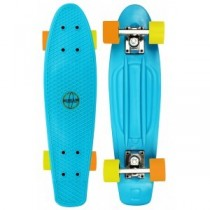 Penny Board, Nijdam, 22.5 inch, Albastru, 57x15x10.5 cm