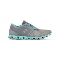 Pantofi alergare ON Cloud X dama albastru marin/gri