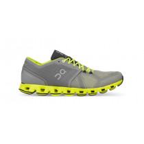 Pantofi alergare ON Cloud X gri/galben