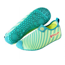 Pantofi Fitness si Sporturi Acvatice, Ballop, Skin Shoes, Skin Fit, Ray, Verde