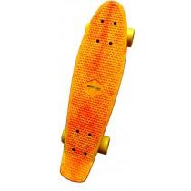 Penny Board, Spartan, Plastik Board, Lungime 22.5 inch, Galben, 62.5x15 cm