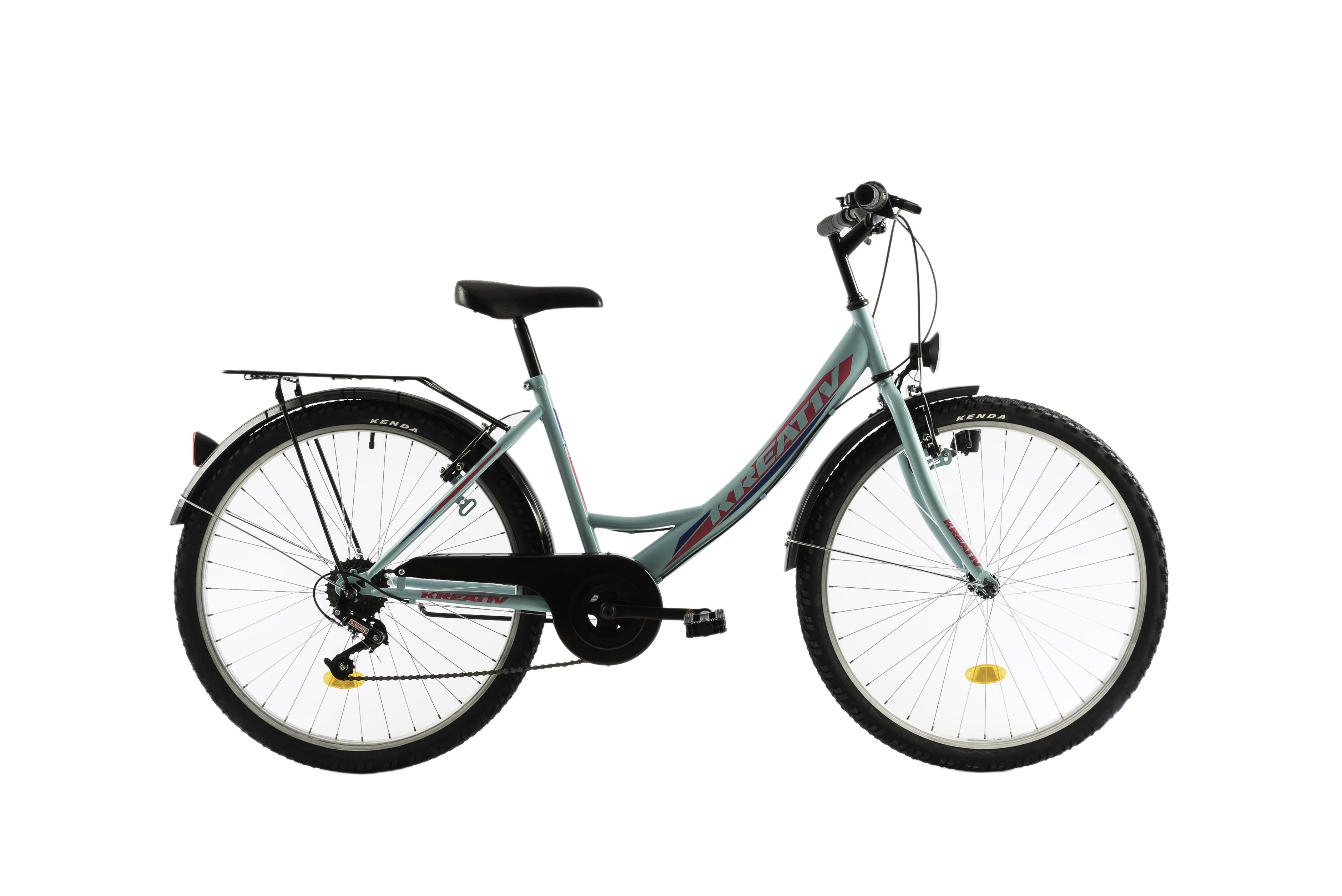 100% calitate potrivire clasică adidași Bicicleta Oras, Dama, DHS, Kreativ 2614, Model 2018, 420 mm